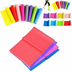 1.2-2m Elastic Workout Resistance Bands Fitness Yoga Body Sp