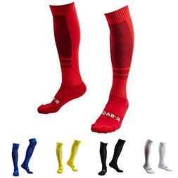 1/3/5 Pack Men's Knee High Sports Soccer Socks/Size