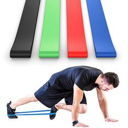 1-5Lots Light to Heavy Resistance Bands For Home Gym Exercis