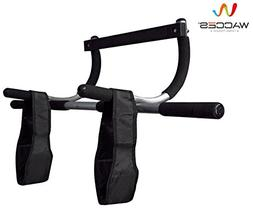 Wacces 3-in-1 Fitness Exercise Door Chin Pull Push Sit up Ba
