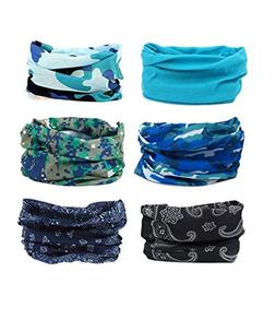 YOHO BUY 16-in-1 4Pcs&6Pcs Headband Seamless Outdoor Sport B