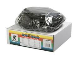 Cando 10-5725 Black Latex-Free Exercise Tubing, X-Heavy Resi