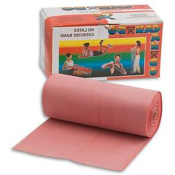 Cando 10-5612 Red Latex-Free Exercise Band, Light Resistance