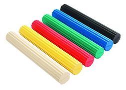 "CanDo Twist-n-Bend Flexible Exercise Bar-12/"" 10-1511 NEW Yellow-X-light"