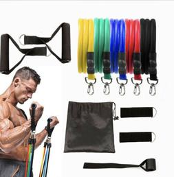 11 piece Resistance Bands Work out set
