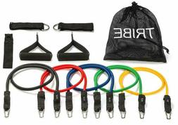 11pc premium resistance bands set workout