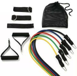 11PC Premium Resistance Bands Set, Workout Bands with Door A