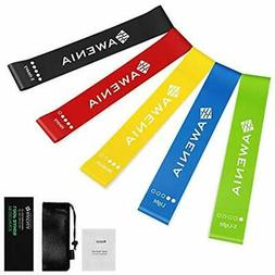 150 LBS Exercise Bands Resistance Set With Stackable Anti Sn