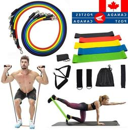 17/11/5Pcs Set Resistance Bands Workout Exercise Yoga Fitnes