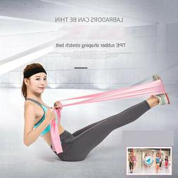 1pc Resistance Loop Bands Pilates Women Long Stretch Bands P