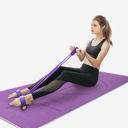 2 Pieces Yoga Set Workout 4 Tubes Strong Fitness Yoga <font>