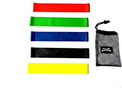 NEW 2018 Alegre Products Resistance Loop Bands - Set of 5, L