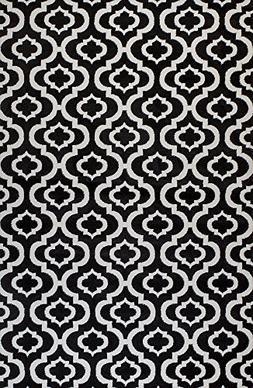 25 black white trellis lattice