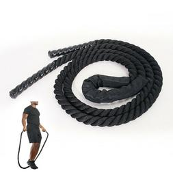 25mm Heavy Jump Rope Crossfit Weighted Battle Skipping Ropes