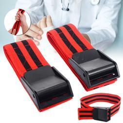 1 Pair Red Blood Flow Restriction Occlusion BFR Tourniquet T