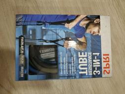 SPRI 3 in 1 Resistance Tube Fitness Workout Exercise
