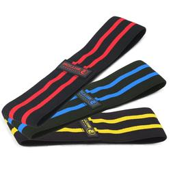3 PCS Resistance Hip Bands for Dynamic Warm-Ups and Activati