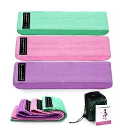 3 Piece Fitness Rubber Bads Resistance Bands Expander Rubber