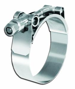 Pro Tie 33733 T-Bolt All Stainless Hose Clamp, SAE Size 72,