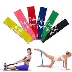 4 Colors Yoga Resistance Loop Exercise Fitness Home Gym Trai