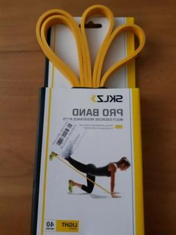 SKLZ 40 Multi-Exercise Light Resistance Pro Band - Yellow