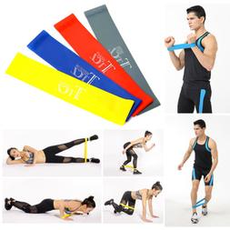 4in1 Resistance Loop Bands Exercise Yoga Bands Workout Fitne