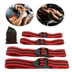 4Pcs Blood Flow Restriction Bands Occlusion Wraps for Arms a