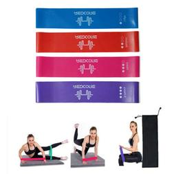 Resistance Bands Pilates Exercise Gym Fitness Stretch Traini