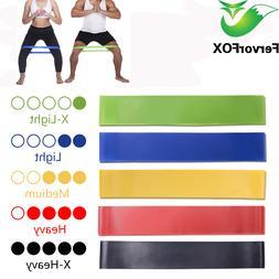 5 Colors Yoga <font><b>Resistance</b></font> Rubber <font><b