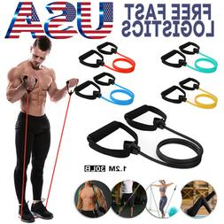 5 Kinds Of Tension Resistance Bands Fitness Yoga Stretching