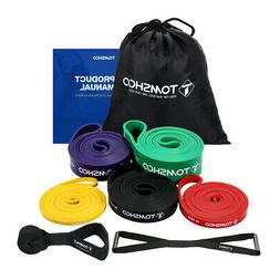 5 packs pull up resistance stretch bands