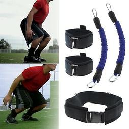 5Pcs Exercise Sport Fitness Muscle Vertical Jump Resistance