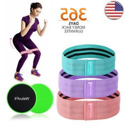 5pcs set Wide Hip Resistance Bands Fitness Workout Stretch E