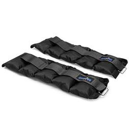 Yes4All Set of 2 Ankle Weights / Wrist Weights with Adjustab