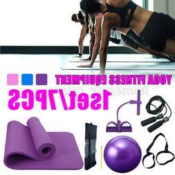 7pcs set exercise yoga fitness equipment yoga