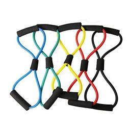 5pcs 8 Type Muscle Chest Expander Rope Fitness Exercise Yoga