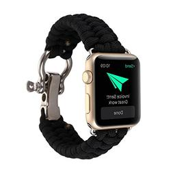 Apple Watch Nylon Rope straps,RTYou Durable Nylon Rope Survi