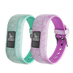 BeneStellar 12 Colors for Garmin Vivofit JR Bands With Secur