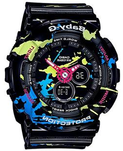 CASIO BABY-G Splatter Pattern Series BA-120SPL-1AJF Womens