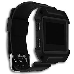For Fibit Blaze Band Men with Case-Greatshow Shockproof and