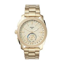 Fossil Q Men's Machine Gold-Tone Stainless Steel Hybrid Smar