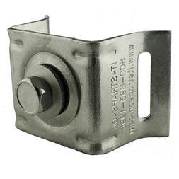 ISO SB021 Stainless Steel Bull's Eye Sign Mounting Bracket