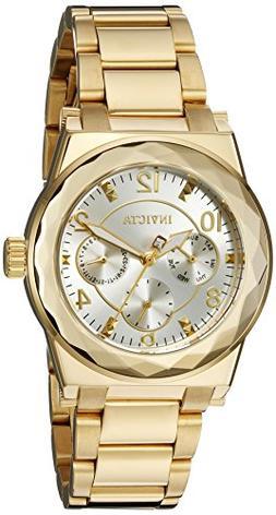 Invicta Women's 22110 Angel Analog Display Quartz Gold Watch