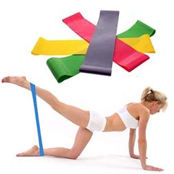 LandFox Resistance Band Loop Yoga Pilates Home GYM Fitness E
