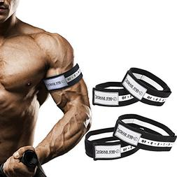 Occlusion Training Bands by BFR Bands, SLIDER SERIES BUNDLE,