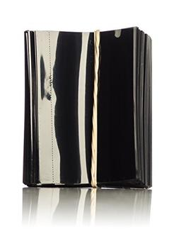 Premium Vials 38mm1000-ZT Black PVC Non-Perforated Shrink Ba