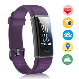 Vigorun Fitness Tracker Color Screen, Activity Tracker Heart
