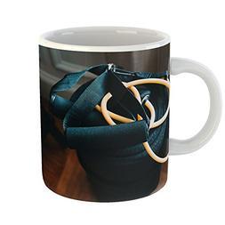 Westlake Art - Mat Exercise - 11oz Coffee Cup Mug - Modern P