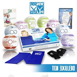 Winsor Pilates Deluxe - 8 DVD's, Weighted Gloves, Resistance
