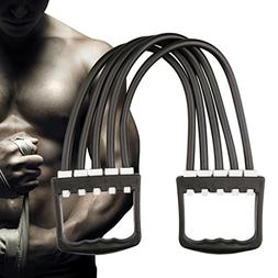 A-SZCXTOP Strength Training Equipment Chest Expander 5 Resis